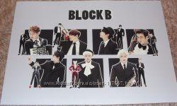 K-pop плакат Block B