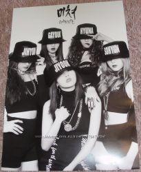 K-pop плакат 4minute - Crazy