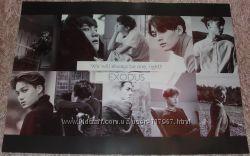 K-pop плакат EXO - Exodus