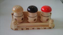 Кухонный набор соль перец приправы