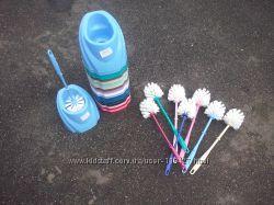 Ерши для туалета пластмассовые