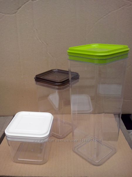 Емкости для хранения сыпучих продуктов