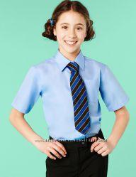 Школьные рубашки с коротким рукавом MARKS&SPENSER