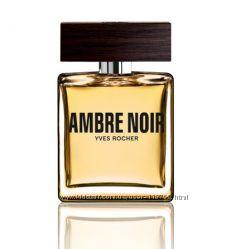 Yves Rocher - мужская туал. вода Черная Амбра  Ambre Noir