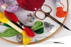 Товары для рукоделия наборы нитки заготовки
