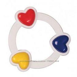 Погремушка Три сердечка