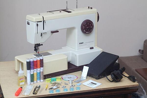 Швейная машина PFAFF Synchromatic 1215 Германия 1984г Верх. транспортер