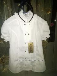 Школьная блуза короткий рукав