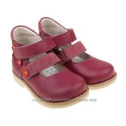 Ортопедические кожаные туфли Botiki