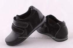Кожаные туфли для садика и школы