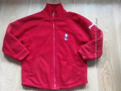 Флисовая утепленная куртка для мальчика 9-12 лет