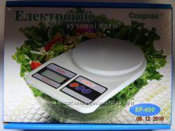 НОВЫЕ Электронные Кухонные Весы SF- 400 Батарейки
