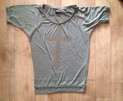 футболка Only с заклепками