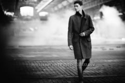 пальто ZARA мужское