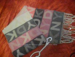 шарфы вискоза и шерсть DKNY