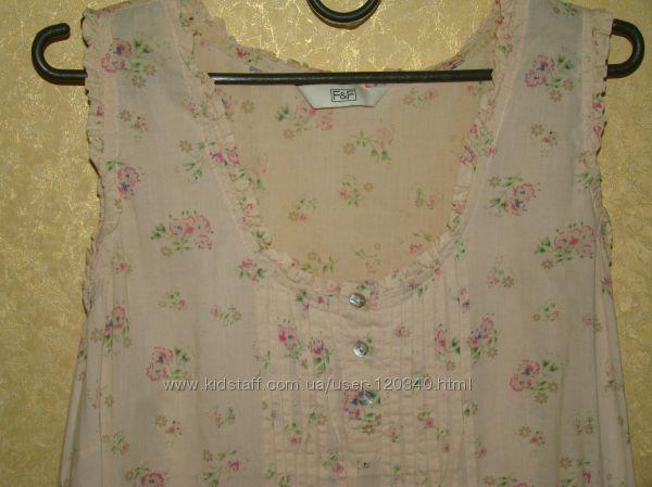 Фирменное очень классное батистовое платье