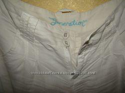 Белые шорты бриджы с низкой посадкой