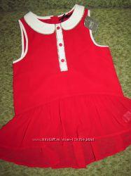 платье  и туничка некст на 6-7 лет