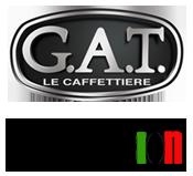 Полный Модельный Ряд кофеварок GAT  аналог Bialetti
