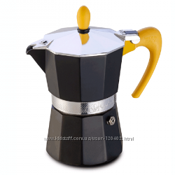 Гейзерная кофеварка GAT Nerissima аналог Bialetti