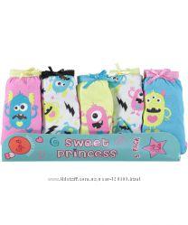 Набор трусиков Sweet Princess из Америки для девочек