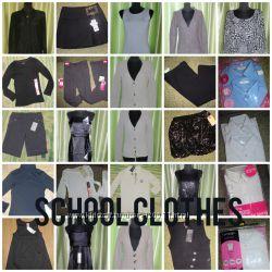 школьный гардероб для девочки