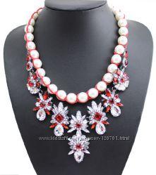 Ожерелья  Shourouk,  Zara , JCrew