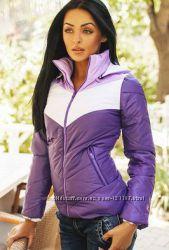 Куртка фиолетовая демисезонная М в наличии.