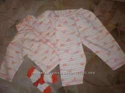Пижамка с начесиком, р. 80-86