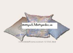 Подушки пухо-перьевые в напернике из 100 хлопка, с кантиком