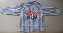 Рубашки на мальчика, на 4 - 5 лет.