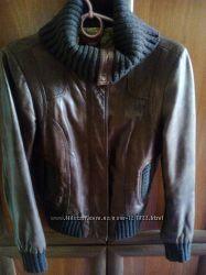 Премиум-брендовая кожаная курточка TED BAKER