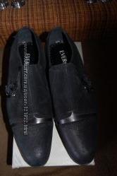 Качественные мужские туфли EVEREST на 42, 5-43р, скидка.