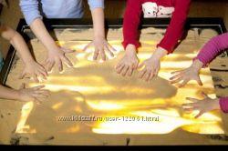 Планшеты и столики для песочной анимации, арттерапии
