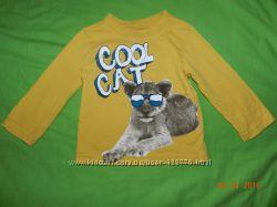 Фирменные футболочки, регланчики в отличном состоянии