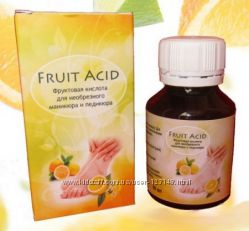 Fruit Acid - фруктовая кислота для биопедикюра и биоманикюра
