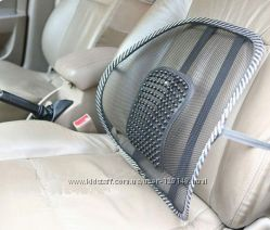 Вкладыш массажер для спины на стул, кресло в машину
