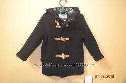 Шерстяное пальто ZARA на 3-4 года
