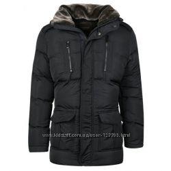 Мужская, длинная, зимняя куртка  Glo-story