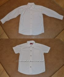 Белые рубашки на рост 122 см, галстуки