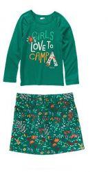 Комплект реглан и юбочка CRAZY8 для девочки 10-12 лет