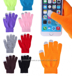 Трикотажные перчатки,  Touch Screen