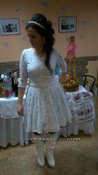 короткое белое платье можно обмен