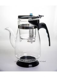 Чайник  с кнопкой - экспресс заварка - 900 мл.
