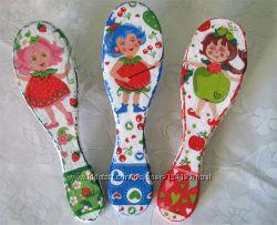 Детские массажные щётки. Декупаж