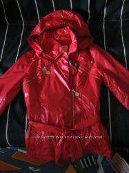 Плащик - ветровка для маленькой модницы