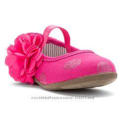 OshKosh нарядные туфельки 13, 7 стелька, 5 Размер, с этикеткой, Америка