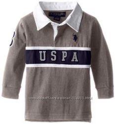 Стильная нарядная кофта U. S. Polo Assn на 4-5 лет, с этикеткой, Америка