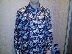 Фирменная новая рубашка стильной расцветки