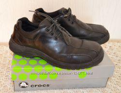 Кожаные туфли CROCS